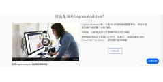 IBM Cognos Analytics的功能截图