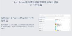 App Annie的功能截图