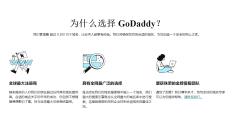 GoDaddy的功能截图